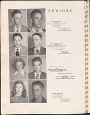 Page 12, 1945 Edition, Wendell High School - Yearbook (Wendell, NC) online yearbook collection