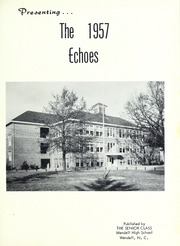Page 5, 1957 Edition, Wendell High School - Yearbook (Wendell, NC) online yearbook collection