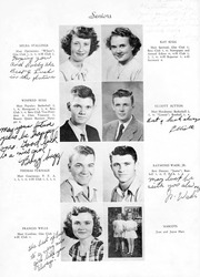 Page 11, 1950 Edition, Snow Hill High School - Knoll Yearbook (Snow Hill, NC) online yearbook collection