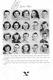 Page 13, 1950 Edition, Snow Hill High School - Knoll Yearbook (Snow Hill, NC) online yearbook collection