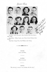 Page 15, 1950 Edition, Snow Hill High School - Knoll Yearbook (Snow Hill, NC) online yearbook collection