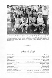 Page 2, 1950 Edition, Snow Hill High School - Knoll Yearbook (Snow Hill, NC) online yearbook collection