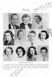 Page 4, 1950 Edition, Snow Hill High School - Knoll Yearbook (Snow Hill, NC) online yearbook collection
