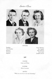 Page 5, 1950 Edition, Snow Hill High School - Knoll Yearbook (Snow Hill, NC) online yearbook collection