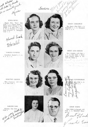 Page 6, 1950 Edition, Snow Hill High School - Knoll Yearbook (Snow Hill, NC) online yearbook collection