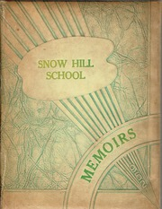 Page 1, 1952 Edition, Snow Hill High School - Knoll Yearbook (Snow Hill, NC) online yearbook collection