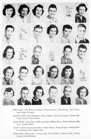 Page 13, 1952 Edition, Snow Hill High School - Knoll Yearbook (Snow Hill, NC) online yearbook collection