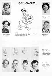 Page 15, 1952 Edition, Snow Hill High School - Knoll Yearbook (Snow Hill, NC) online yearbook collection
