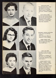 Page 16, 1956 Edition, Kenly High School - Galleon Yearbook (Kenly, NC) online yearbook collection