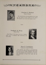Page 15, 1932 Edition, Indiana State University - Advance Yearbook (Terre Haute, IN) online yearbook collection