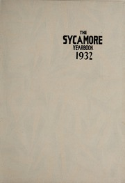 Page 5, 1932 Edition, Indiana State University - Advance Yearbook (Terre Haute, IN) online yearbook collection