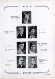 Page 14, 1933 Edition, Indiana State University - Advance Yearbook (Terre Haute, IN) online yearbook collection