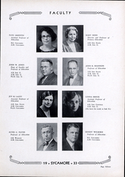 Page 16, 1933 Edition, Indiana State University - Advance Yearbook (Terre Haute, IN) online yearbook collection