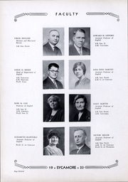 Page 17, 1933 Edition, Indiana State University - Advance Yearbook (Terre Haute, IN) online yearbook collection