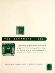 Page 7, 1951 Edition, Indiana State University - Advance Yearbook (Terre Haute, IN) online yearbook collection