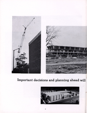 Page 9, 1965 Edition, Indiana State University - Advance Yearbook (Terre Haute, IN) online yearbook collection