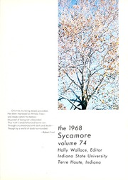 Page 5, 1968 Edition, Indiana State University - Advance Yearbook (Terre Haute, IN) online yearbook collection