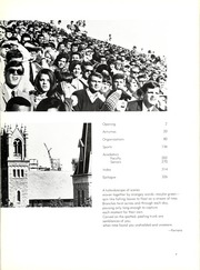Page 7, 1968 Edition, Indiana State University - Advance Yearbook (Terre Haute, IN) online yearbook collection