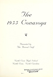 Page 5, 1955 Edition, North Cove High School - Conasoga Yearbook (North Cove, NC) online yearbook collection