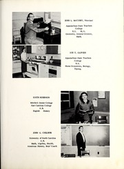 Page 13, 1957 Edition, North Cove High School - Conasoga Yearbook (North Cove, NC) online yearbook collection