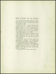 Page 9, 1949 Edition, Benton Heights High School - Yearbook (Monroe, NC) online yearbook collection