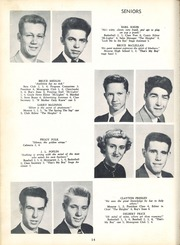 Page 18, 1953 Edition, Benton Heights High School - Yearbook (Monroe, NC) online yearbook collection