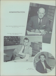 Page 10, 1957 Edition, McLeansville High School - Oak Yearbook (McLeansville, NC) online yearbook collection