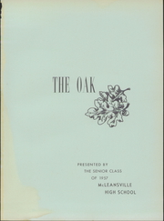 Page 5, 1957 Edition, McLeansville High School - Oak Yearbook (McLeansville, NC) online yearbook collection