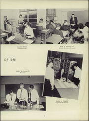 Page 13, 1958 Edition, McLeansville High School - Oak Yearbook (McLeansville, NC) online yearbook collection