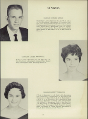 Page 17, 1958 Edition, McLeansville High School - Oak Yearbook (McLeansville, NC) online yearbook collection