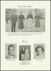 Page 12, 1955 Edition, Morven High School - Memories Yearbook (Morven, NC) online yearbook collection