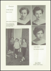 Page 17, 1955 Edition, Morven High School - Memories Yearbook (Morven, NC) online yearbook collection