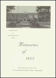 Page 5, 1955 Edition, Morven High School - Memories Yearbook (Morven, NC) online yearbook collection