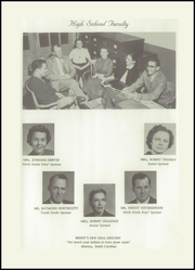 Page 9, 1955 Edition, Morven High School - Memories Yearbook (Morven, NC) online yearbook collection