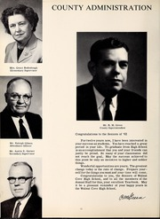 Page 16, 1962 Edition, Walnut Cove High School - Wildcat Yearbook (Walnut Cove, NC) online yearbook collection