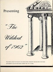 Page 5, 1962 Edition, Walnut Cove High School - Wildcat Yearbook (Walnut Cove, NC) online yearbook collection