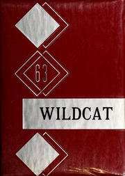 1963 Edition, Walnut Cove High School - Wildcat Yearbook (Walnut Cove, NC)