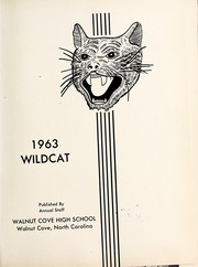 Page 5, 1963 Edition, Walnut Cove High School - Wildcat Yearbook (Walnut Cove, NC) online yearbook collection