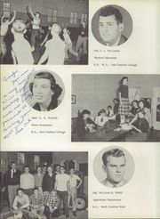 Page 12, 1955 Edition, Weeksville High School - Bow Wow Yearbook (Weeksville, NC) online yearbook collection