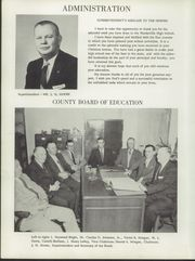 Page 8, 1957 Edition, Weeksville High School - Bow Wow Yearbook (Weeksville, NC) online yearbook collection