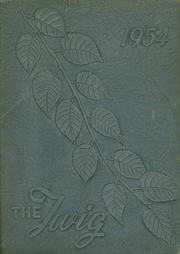 Page 1, 1954 Edition, Fair Grove High School - Twig Yearbook (Thomasville, NC) online yearbook collection