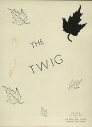 Page 7, 1954 Edition, Fair Grove High School - Twig Yearbook (Thomasville, NC) online yearbook collection