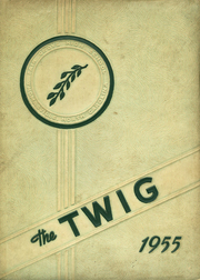 Page 1, 1955 Edition, Fair Grove High School - Twig Yearbook (Thomasville, NC) online yearbook collection
