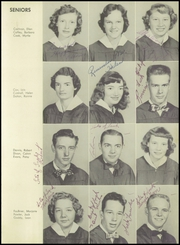 Page 15, 1955 Edition, Sand Hill High School - Voice of the Hills Yearbook (Asheville, NC) online yearbook collection