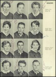 Page 16, 1955 Edition, Sand Hill High School - Voice of the Hills Yearbook (Asheville, NC) online yearbook collection