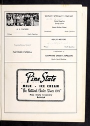 Page 67, 1956 Edition, Glendale High School - Glen Cedo Yearbook (Kenly, NC) online yearbook collection