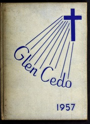 1957 Edition, Glendale High School - Glen Cedo Yearbook (Kenly, NC)
