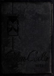 1958 Edition, Glendale High School - Glen Cedo Yearbook (Kenly, NC)