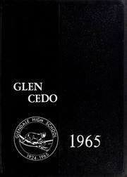 1965 Edition, Glendale High School - Glen Cedo Yearbook (Kenly, NC)