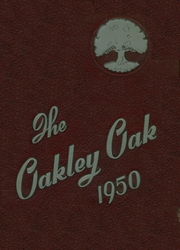 1950 Edition, Oakley High School - Oak Yearbook (Asheville, NC)